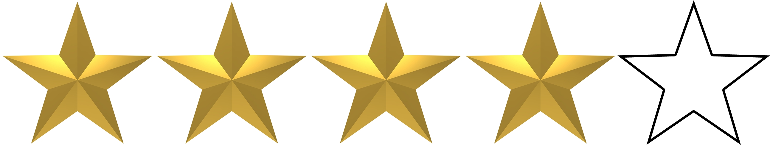 Image result for 4 stars out of 5