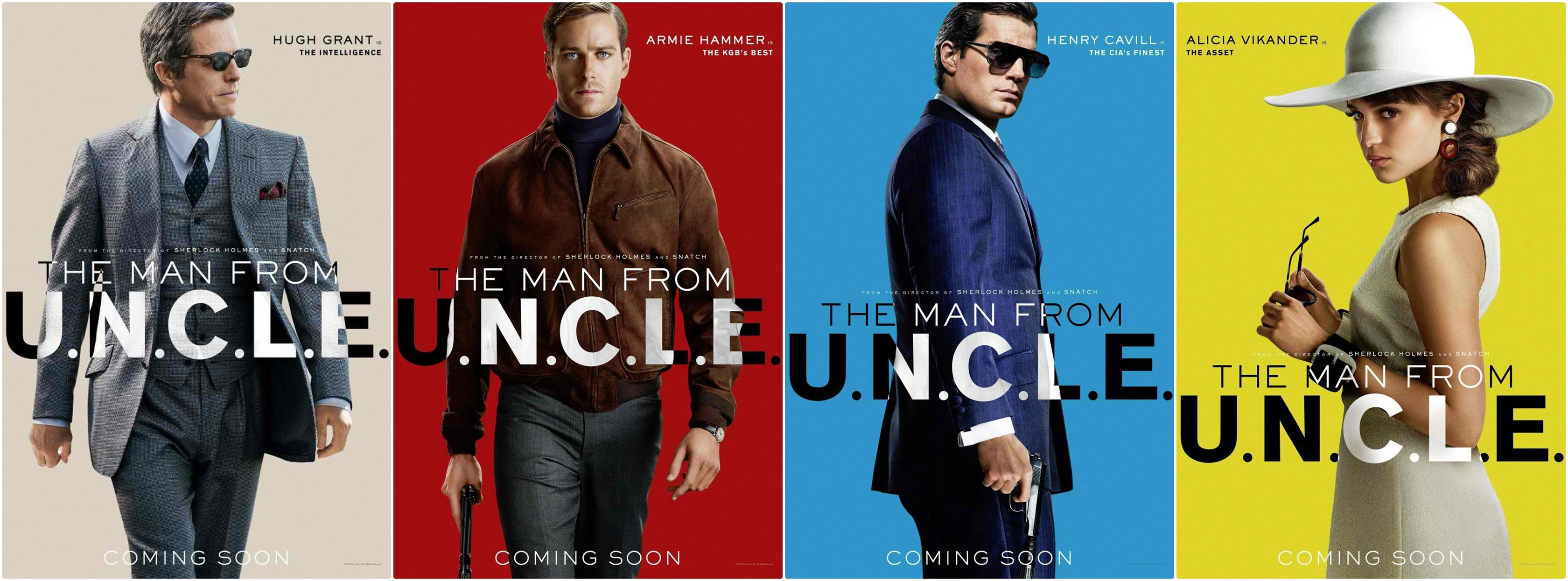 new �man from �uncle� posters in flying colors