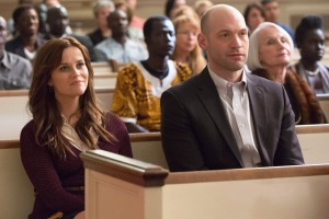 THE GOOD LIE - 2014 FILM STILL - Reese Witherspoon as Carrie Davis and Corey Stoll as Jack Forrester - Photo Credit: Bob Mahoney  ©2013 Alcon Entertainment, LLC. All Rights Reserved.