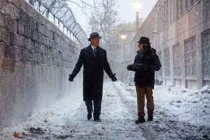 Tom Hanks (left) stars in Steven Spielberg's (right) Untitled Cold War spy thriller, which is the true story of James Donovan, an attorney who finds himself thrust into the center of the Cold War when the CIA sends him on the near-impossible mission to negotiate the release of a captured American U-2 pilot.