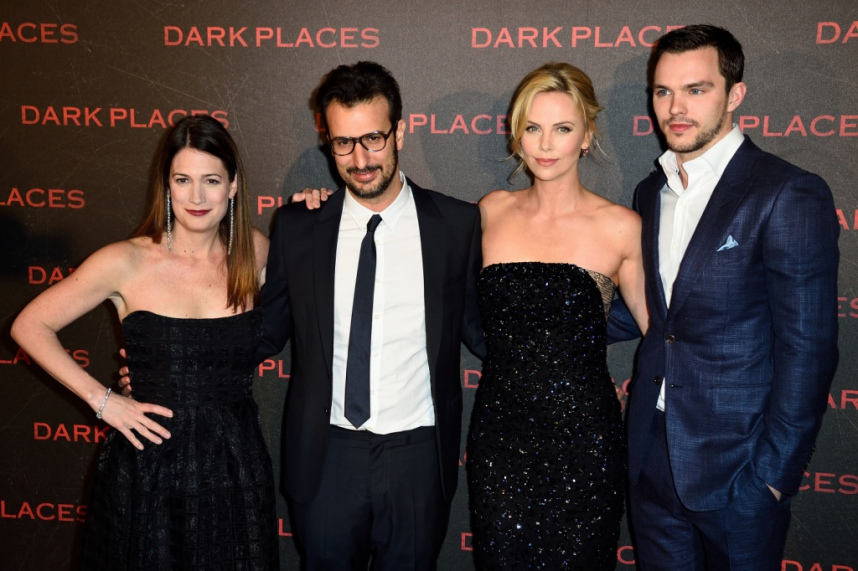 charlize-theron-and-gillian-flynn-the-director-and-nicholas-houlth-dark-places