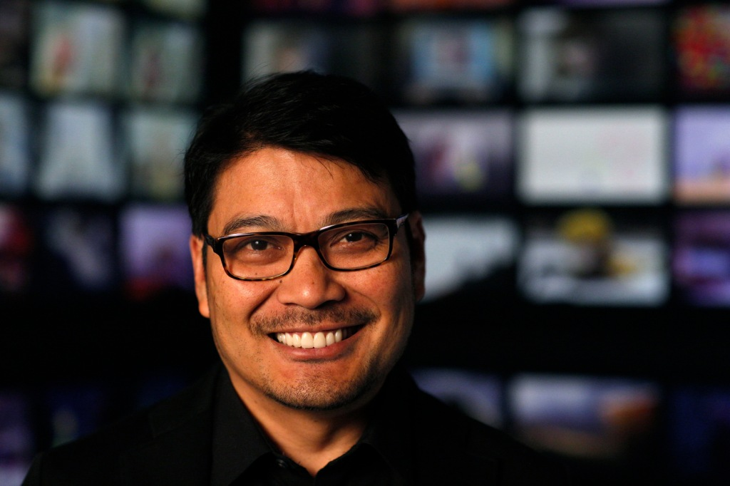 INSIDE OUT Co-Director Ronnie del Carmen. Photo by Debby Coleman. ?2015 Disney?Pixar. All Rights Reserved.