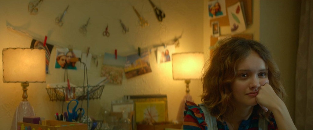 """Olivia Cooke as """"Rachel"""" in ME AND EARL AND THE DYING GIRL. Photo coutesy of Fox Searchlight Pictures. © 2015 Twentieth Century Fox Film Corporation All Rights Reserved"""