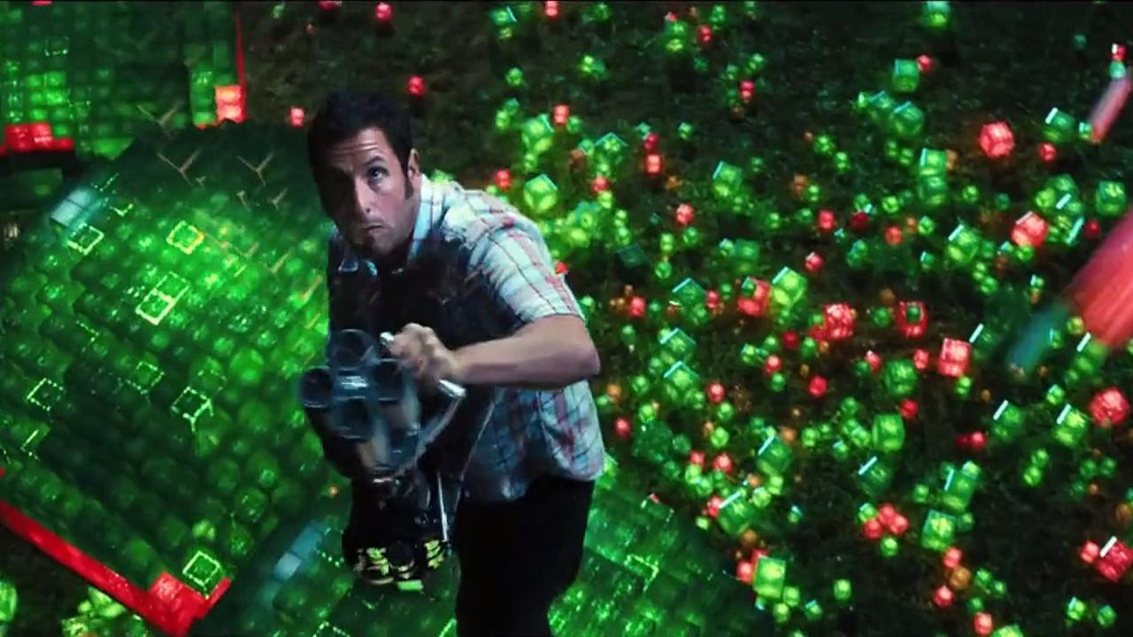 Adam Sandler, Kevin James Defend Earth From Alien in 'Pixels