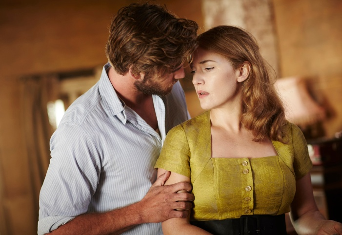 laim hemsworth & kate winslet in THE DRESSMAKER