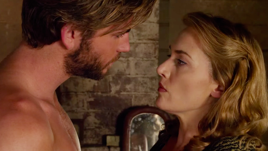 Liam Hemsworth and Kate Winslet THE DRESSMAKER