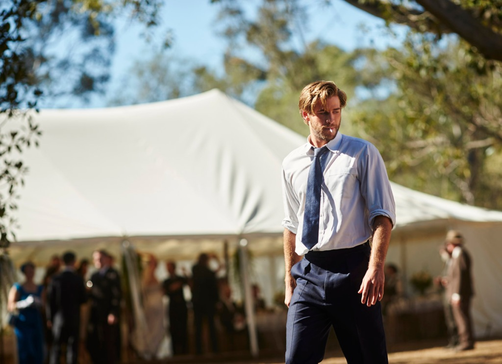 liam hemsworth in THE DRESSMAKER
