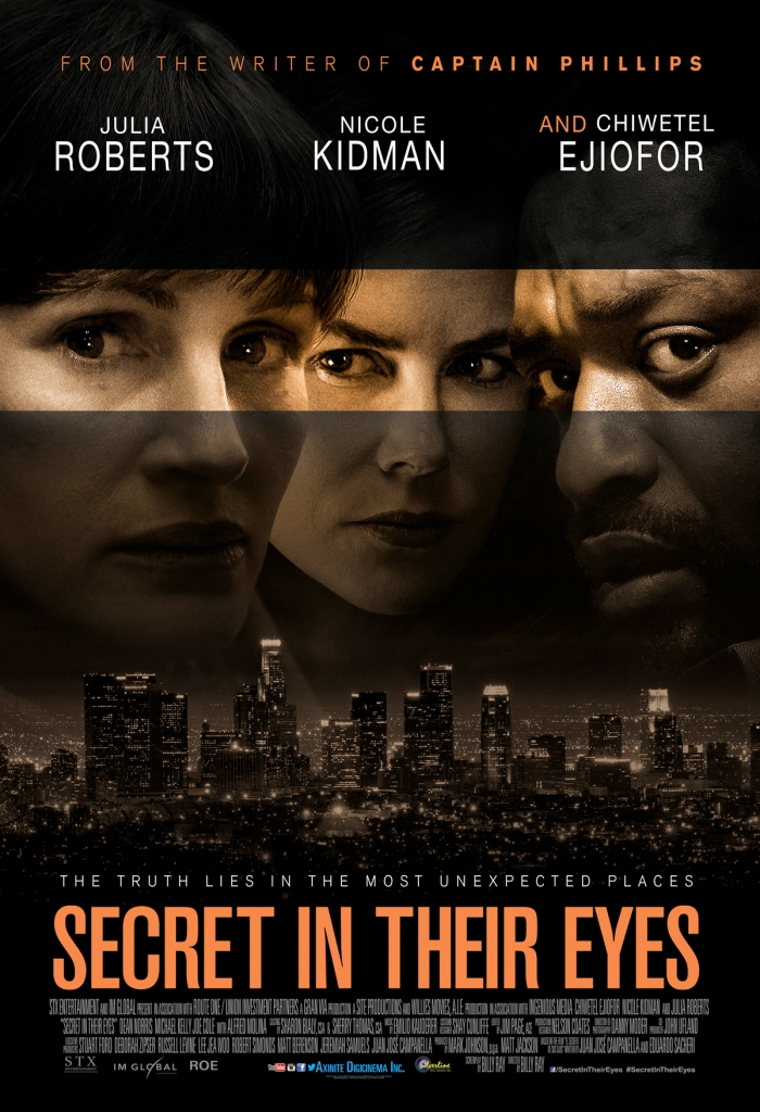 Official Poster SECRET IN THEIR EYES