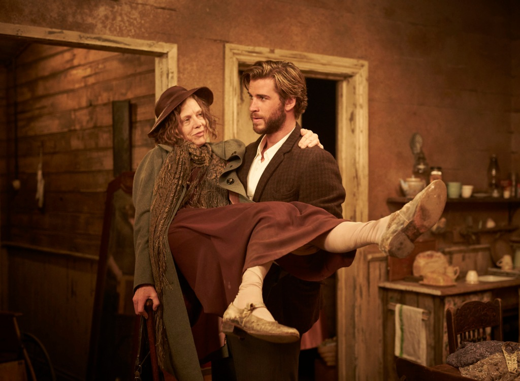 judy davis and liam hemsworth - THE DRESSMAKER