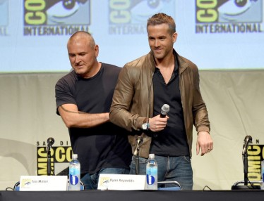 director Tim Miller and Ryan Reynolds -DEADPOOL