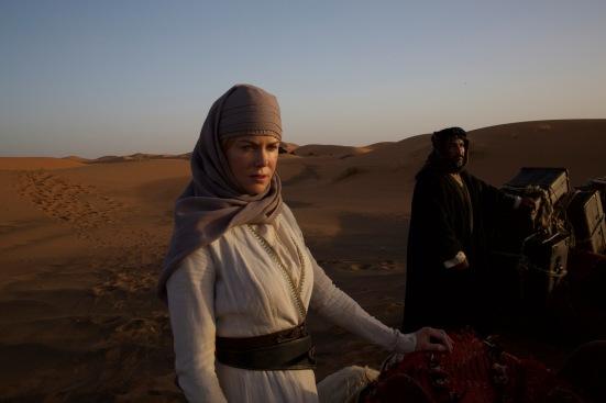 nicole kidman in QUEEN OF THE DESERT