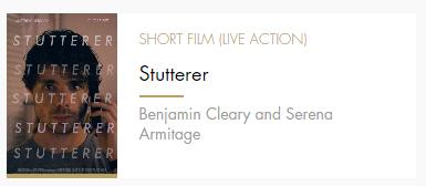 Short Film Stutterer