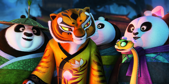 Po Becomes Teacher to The Furious Five in 'Kung Fu Panda 3 ...