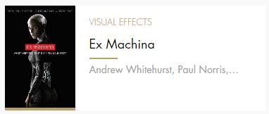 Visual Effects Ex Mahina