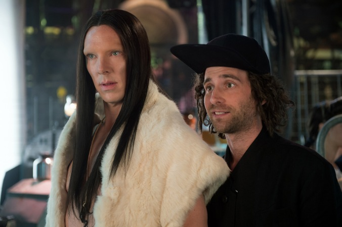 Benedict Cumberbatch plays All and Kyle Mooney plays Don Atari in Zoolander No. 2 from Paramount Pictures.