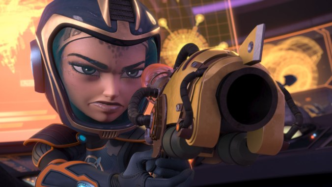 bella thorne voices cora in RATCHET AND CLANK