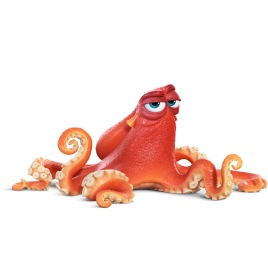 "FINDING DORY - HANK (voice of Ed O'Neill) is an octopus. Actually, he's a ""septopus"": he lost a tentacle—along with his sense of humor—somewhere along the way. But Hank is just as competent as his eight-armed peers. An accomplished escape artist with camouflaging capabilities to boot, Hank is the first to greet Dory when she finds herself in the Marine Life Institute. But make no mistake: he's not looking for a friend. Hank is after one thing—a ticket on a transport truck to a cozy Cleveland facility where he'll be able to enjoy a peaceful life of solitude. ©2016 Disney•Pixar. All Rights Reserved."