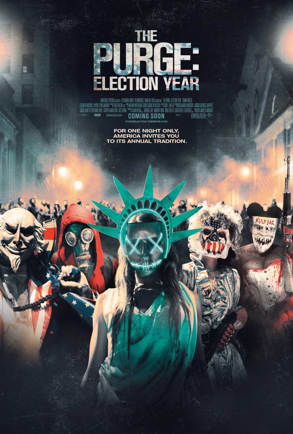 6 The Purge Election Year Poster