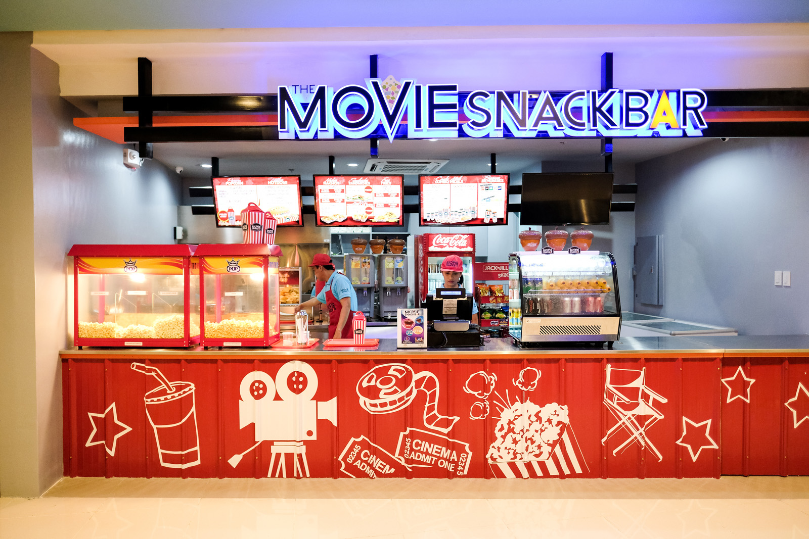 movie snack bar u p town center pelikula mania. Black Bedroom Furniture Sets. Home Design Ideas