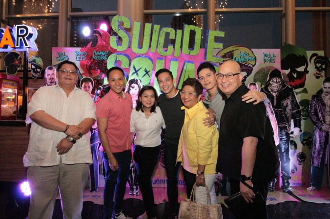Nat Manilag, Francis Libiran, Harry Libiran, Arsi Baltazar with Ayala Malls Cinemas Amir Precilla, Mina Domingo and Susan Joven of visions and expressions