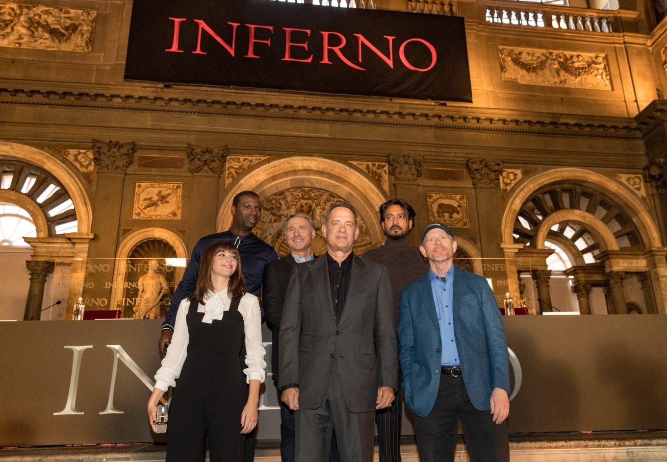 INFERNO - Press Conference and Photo Call - Florence, Italy