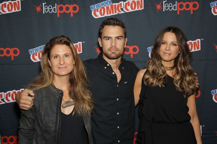 """Photo Call for Screen Gems' """"UNDERWORLD: BLOOD WARS"""" while attending New York Comic-Con at Madison Square Garden"""