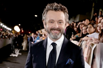 "Michael Sheen seen at Columbia Pictures World Premiere of ""Passengers"" at Regency Village Theatre on Wednesday, Dec. 14, 2016, in Los Angeles. (Photo by Eric Charbonneau/Invision for Sony Pictures/AP Images)"
