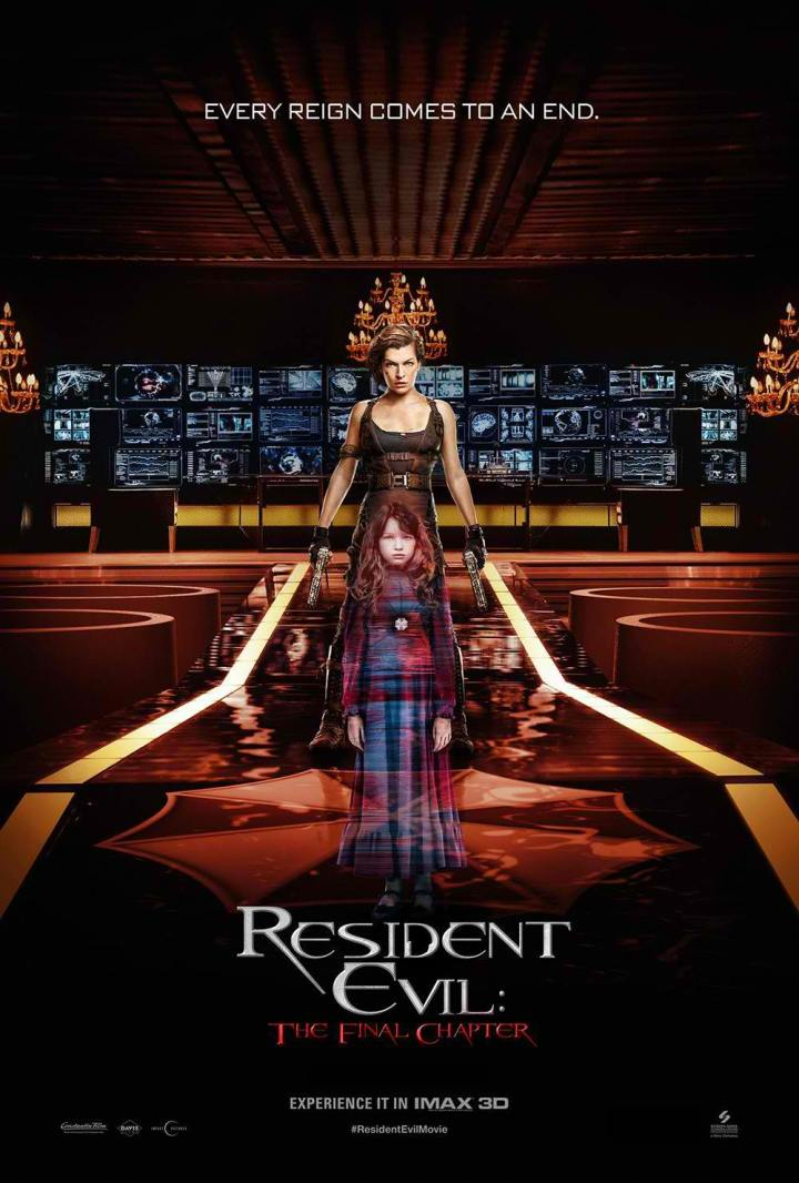 Resident Evil The Final Chapter IMAX Poster