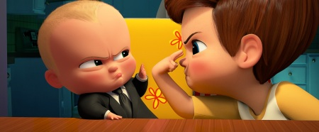 alec baldwin voices boss baby & miles bakshi voices tim _ THE BOSS BABY