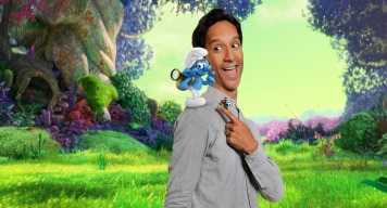 """Danny Pudi voices """"Brainy"""" in Columbia Pictures and Sony Pictures Animation's SMURFS: THE LOST VILLAGE."""