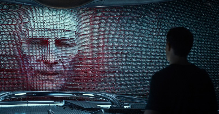 Bryan Cranston as Zordon in POWER RANGERS movie