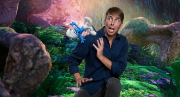 """Jack McBrayer voices """"Clumsy"""" in Columbia Pictures and Sony Pictures Animation's SMURFS: THE LOST VILLAGE."""