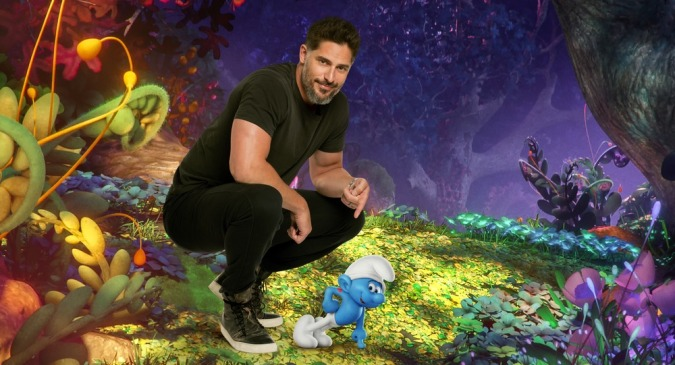"""Joe Manganiello voices """"Hefty"""" in Columbia Pictures and Sony Pictures Animation's SMURFS: THE LOST VILLAGE."""
