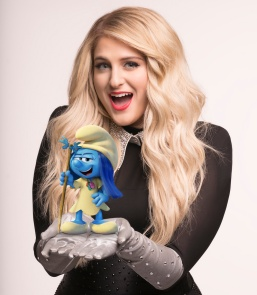 """Meghan Trainor voices """"Melody Smurf"""" in Sony Pictures Animation's SMURFS: THE LOST VILLAGE."""