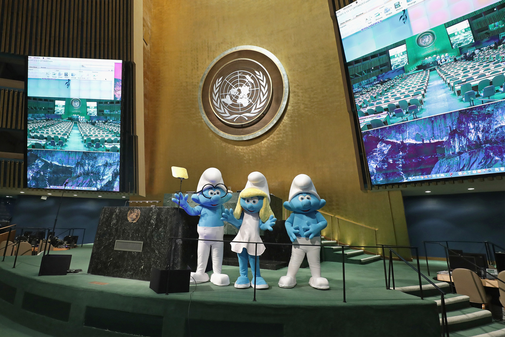 UN And Smurfs: The Lost Village Celebrate International Day Of Happiness