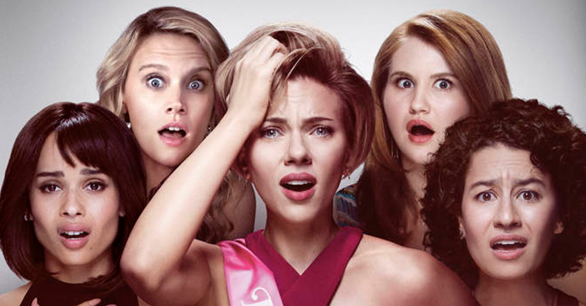 Scarlett Johansson Leads The Girls Of Rough Night In Teaser Poster Pelikula Mania