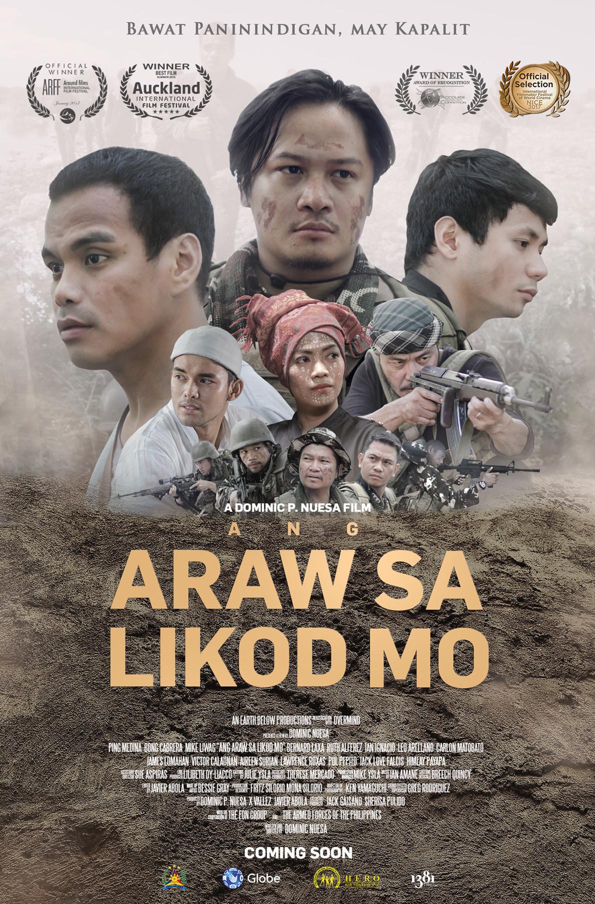 ANG ARAW SA LIKOD MO -poster