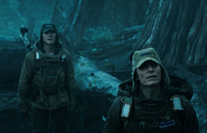 Bily Crudup & Michael Fassbender_ALIEN COVENANT