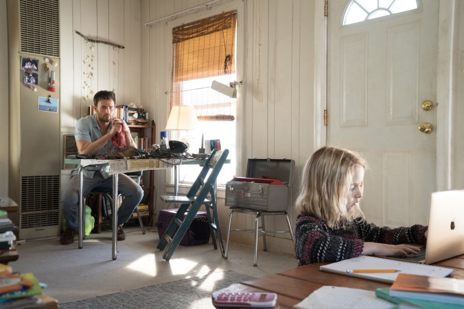 """Mckenna Grace as """"Mary Adler"""" and Chris Evans as """"Frank Adler"""" in the film GIFTED. Photo by Wilson Webb. © 2017 Twentieth Century Fox Film Corporation All Rights Reserved."""