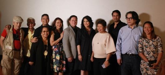 CINEMA CLASSICS AT AYALA MALLS CINEMAS - cast & crew of Hihintayin Kita sa Langit_ with Ayala Malls' Rowena Tomeldan