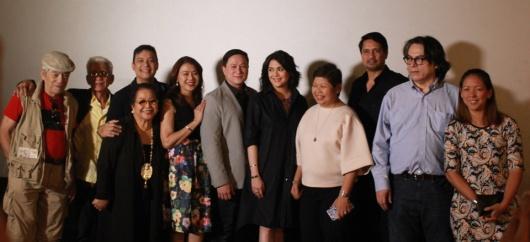 CINEMA CLASSICS AT AYALA MALLS CINEMAS - cast & crew of Hihintayin Kita sa Langit_ with Ayala Malls' Rowena Tomeldan