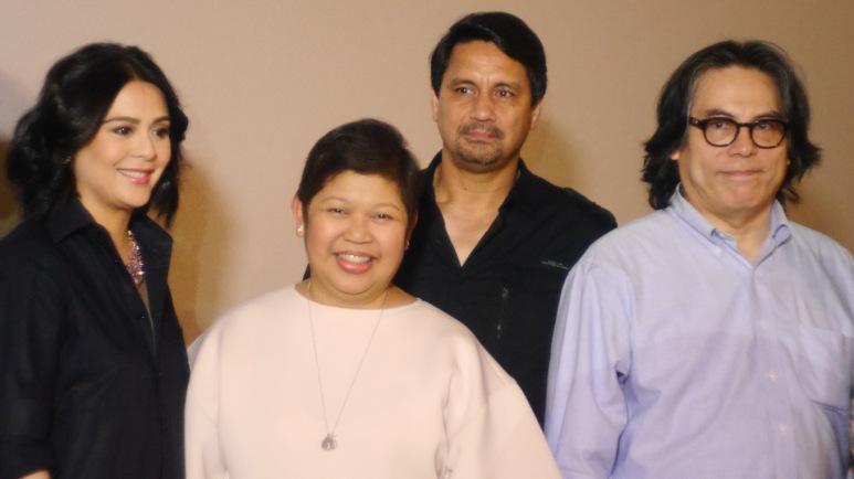 CINEMA CLASSICS AT AYALA MALLS CINEMAS- Dawn Zulueta, Rowena Tomeldan (Head of Ayala Malls), Richard Gutierrez, Carlos Siguion-Reyna