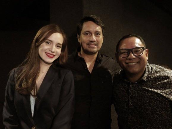 CINEMA CLASSICS AT AYALA MALLS CINEMAS - Lucy Torres-Gomez, Richard Gomez and Leo Katigbak (Head of ABS-CBN Film Restoration)