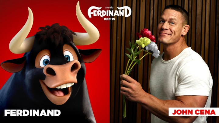 john cena takes title role in FERDINAND