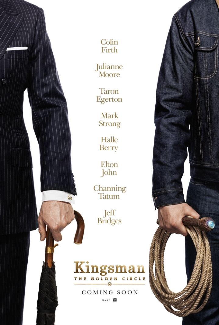 KINGSMAN THE GOLDEN CIRCLE - first poster