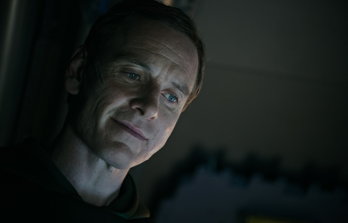 Michael Fassbender as David in ALIEN COVENANT