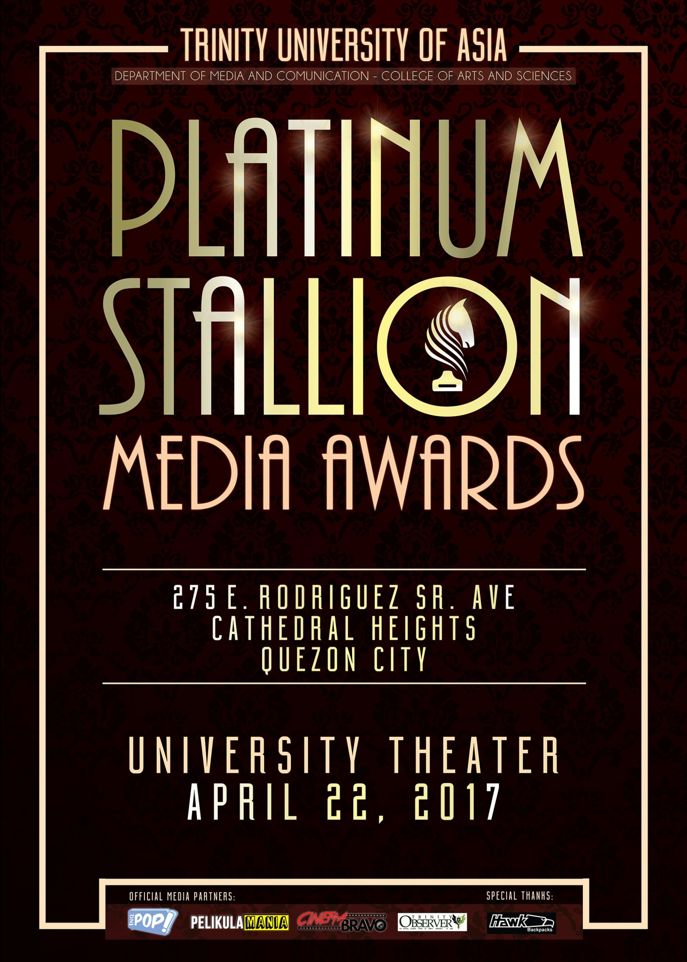 Stallion Media Awards Tarp