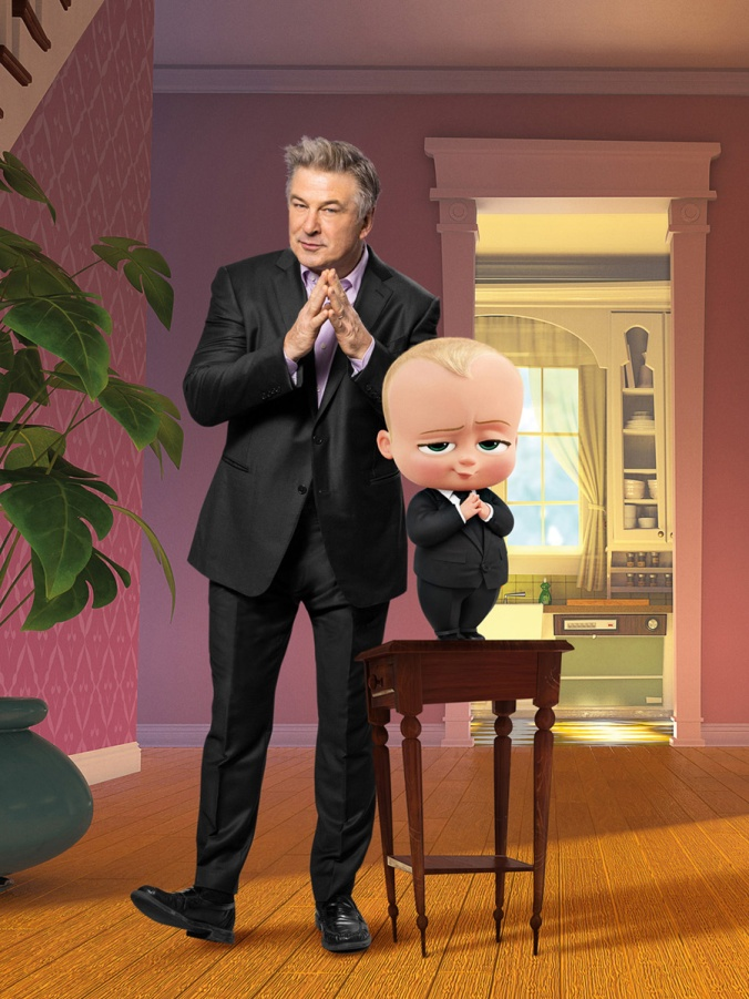 THE BOSS BABY - voiced by Alec Baldwin