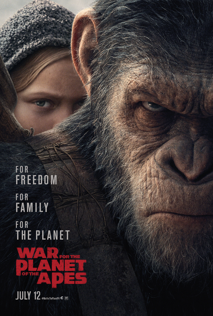 WAR FOR THE PLANET OF THE APES -poster-Phils