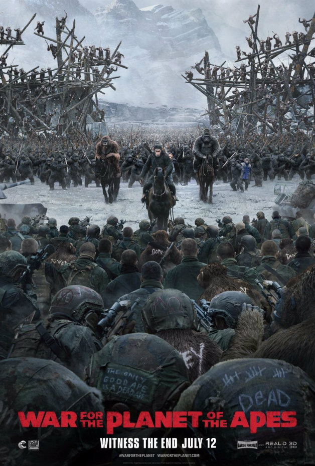 12 War for the Planet of the Apes